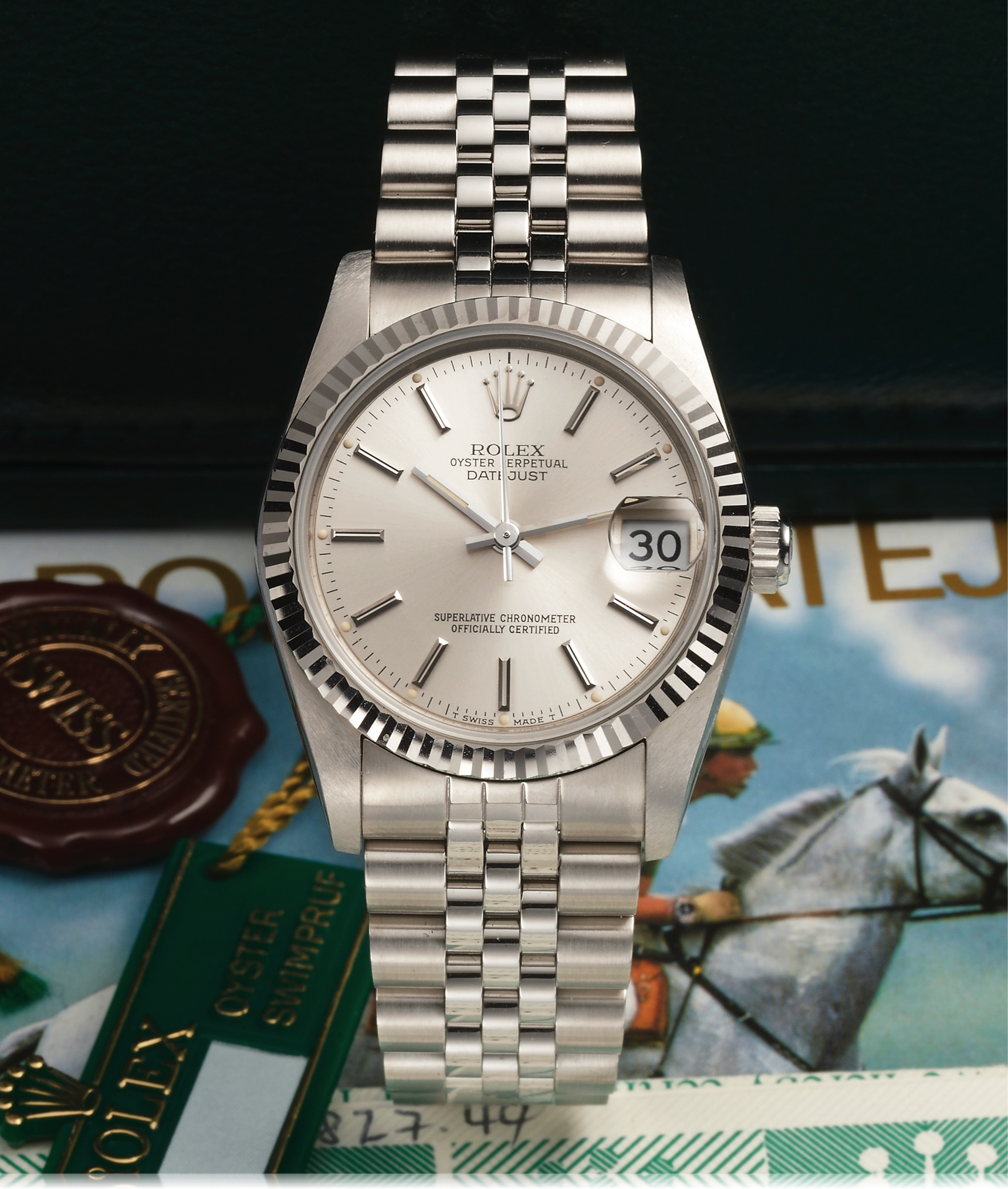 rolex oyster datejust die mit der lupe watchthusiast. Black Bedroom Furniture Sets. Home Design Ideas
