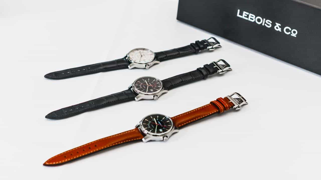 Lebois and Co all three Re-launch Editions
