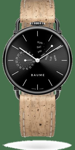 james_modele(miyota)_dimension(41)_material(carter(noir)_bracelet(liege_naturel)_cadran(noir)_aiguilles(blanc))