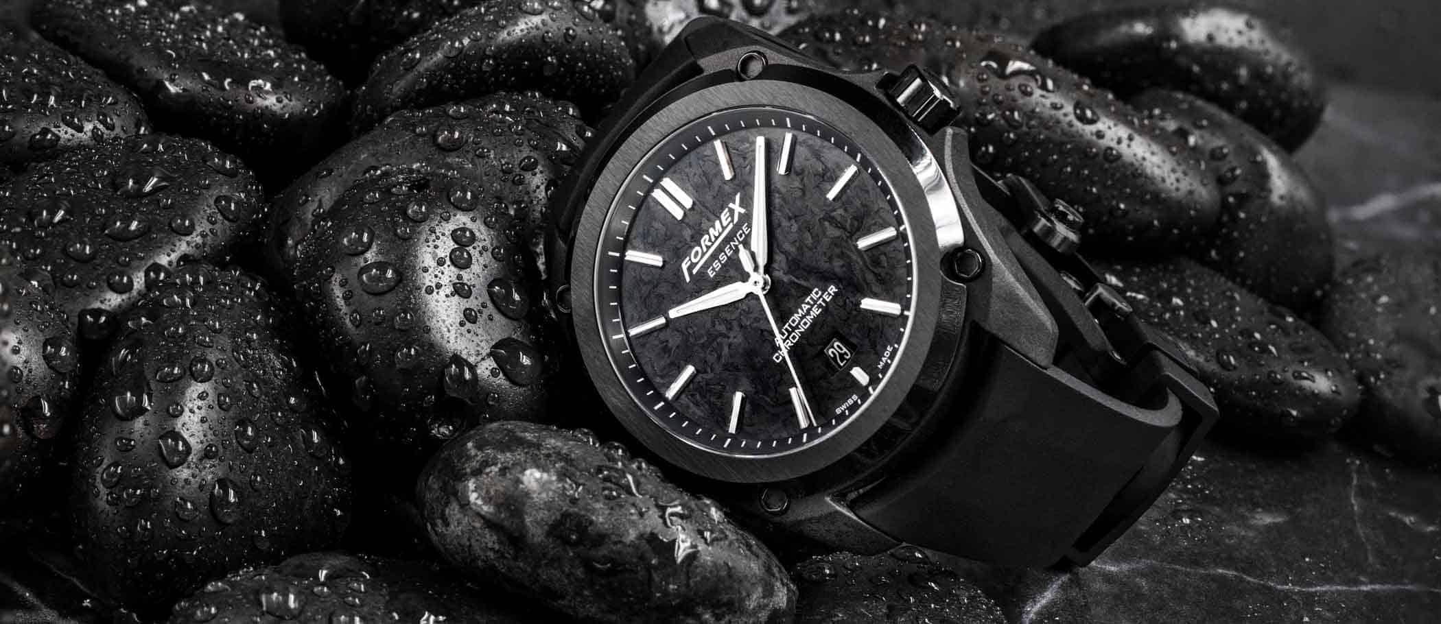 Formex-Essence-LEGGERA-Automatic-Chronometer-FORGED-CARBON-Styled-1