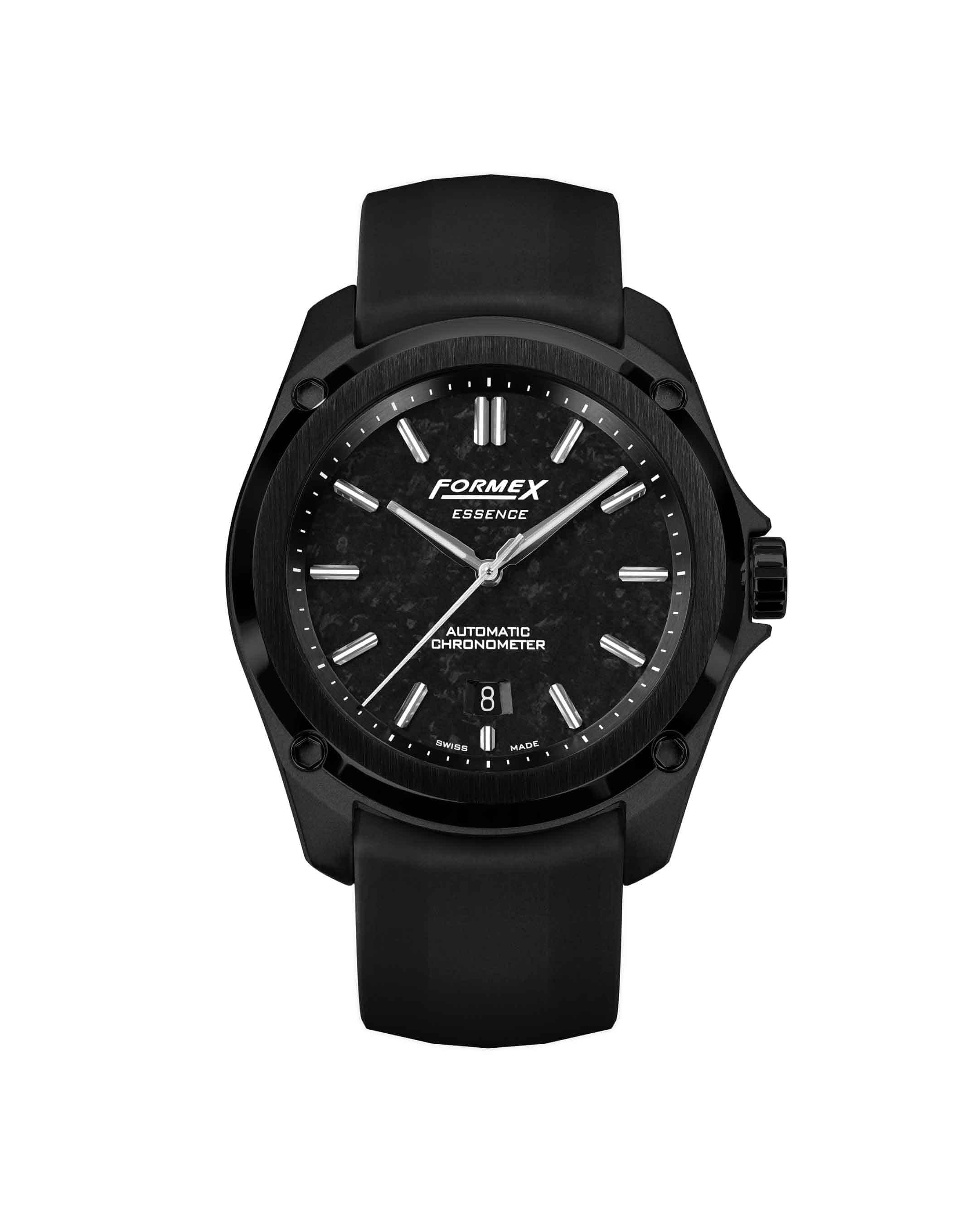 Formex-Essence-LEGGERA-Automatic-Chronometer-FORGED-CARBON-front