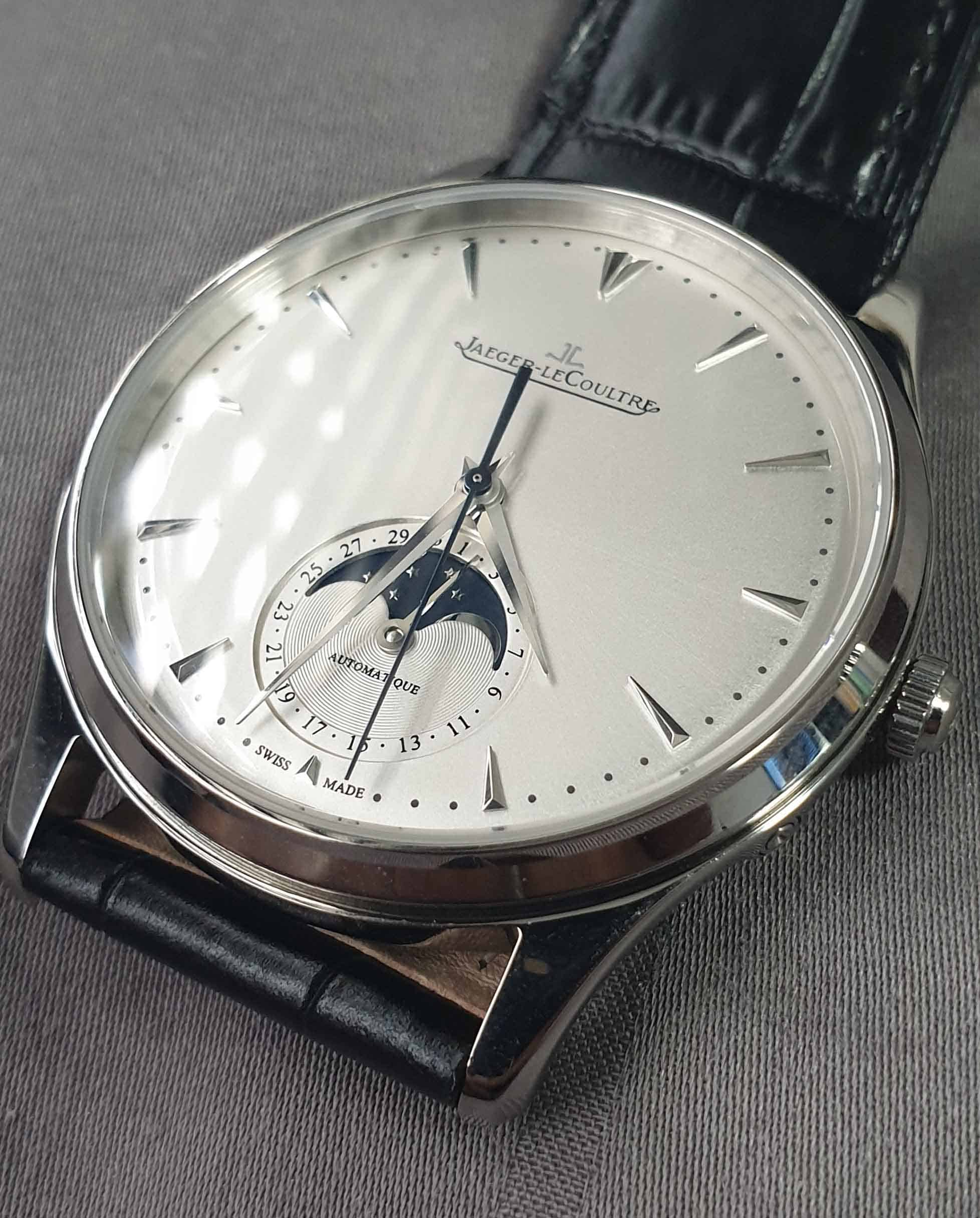 Dial Side of REP JLC Master Thin Moon